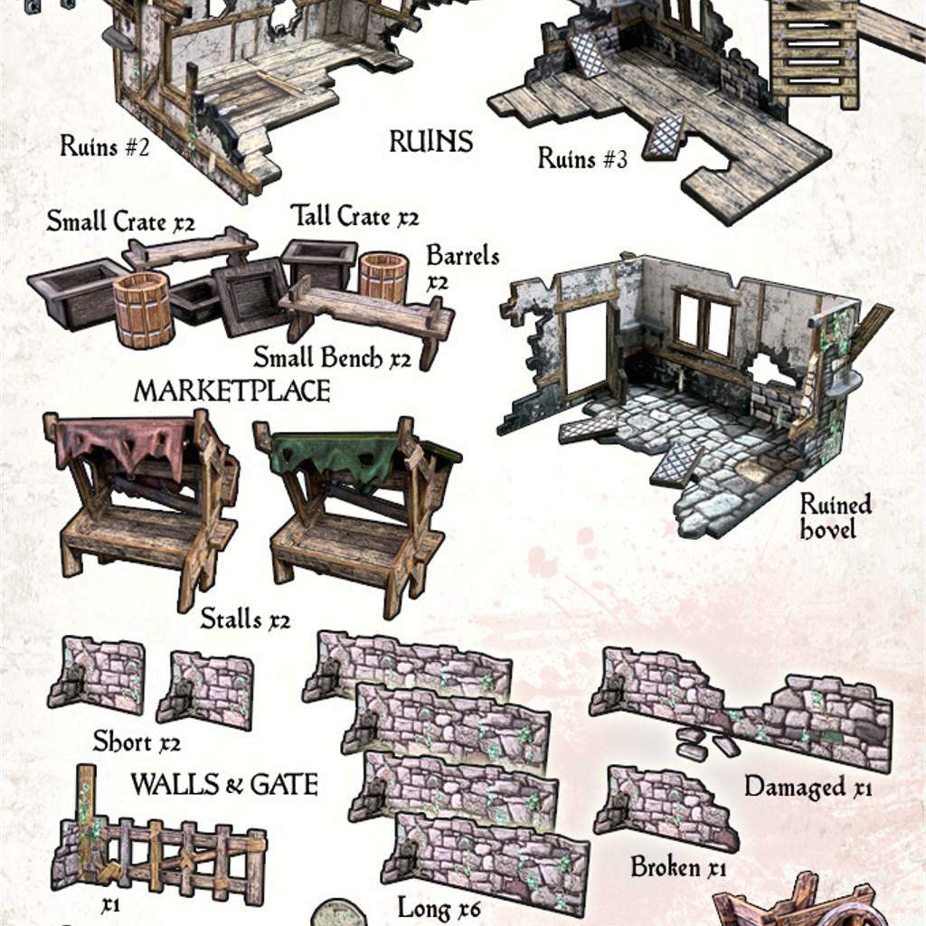 Fantasy Gaming Table x 3