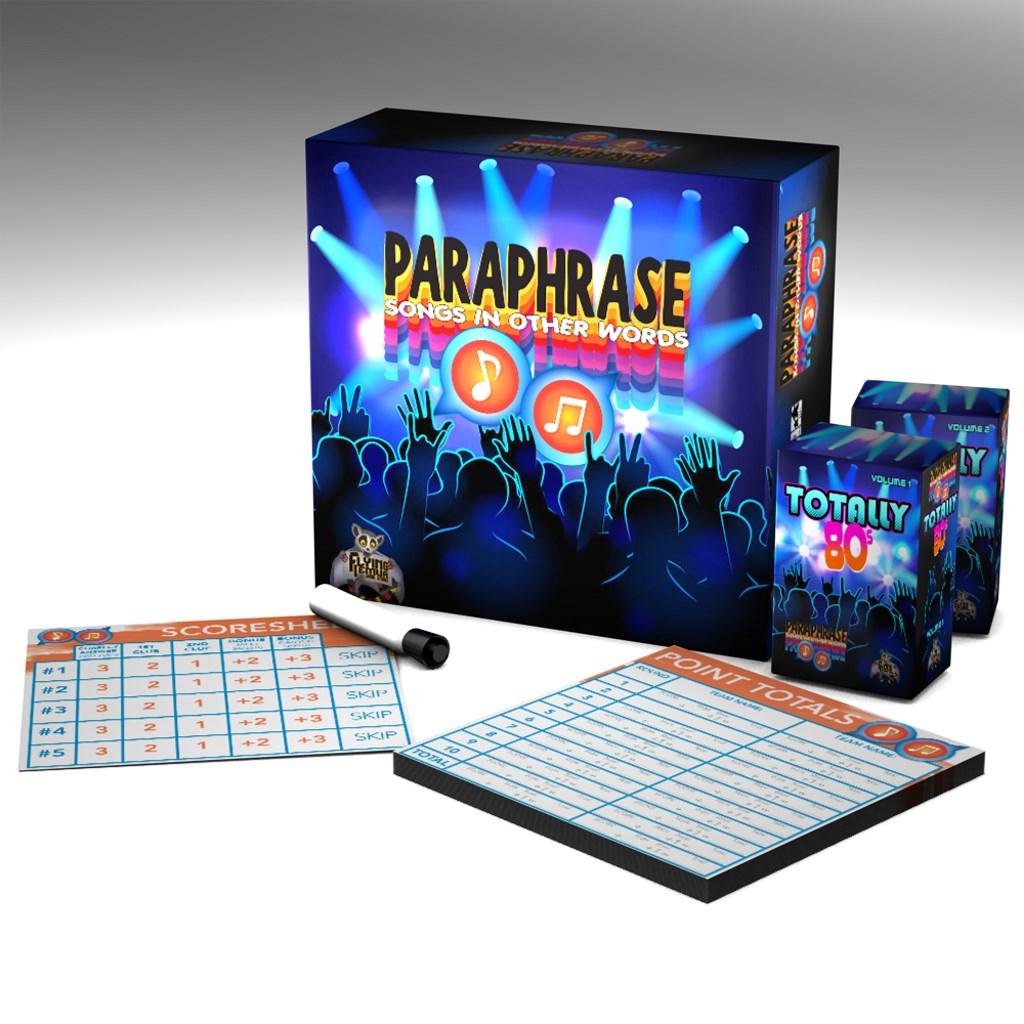 Paraphrase: Base Game - Totally 80s
