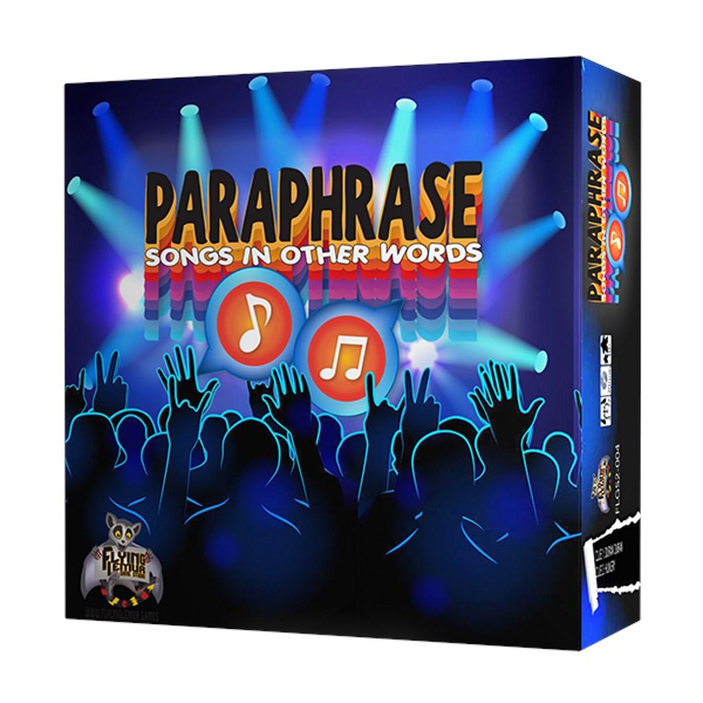 Paraphrase Base Game - Totally '80s