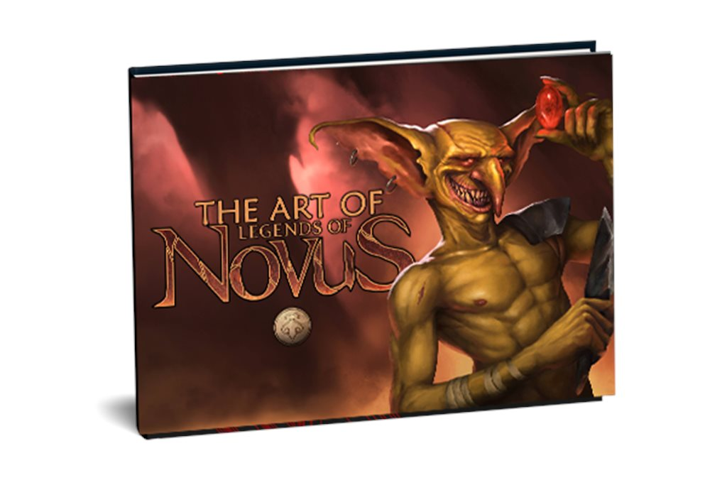 The Art of Novus, 60 page softcover book
