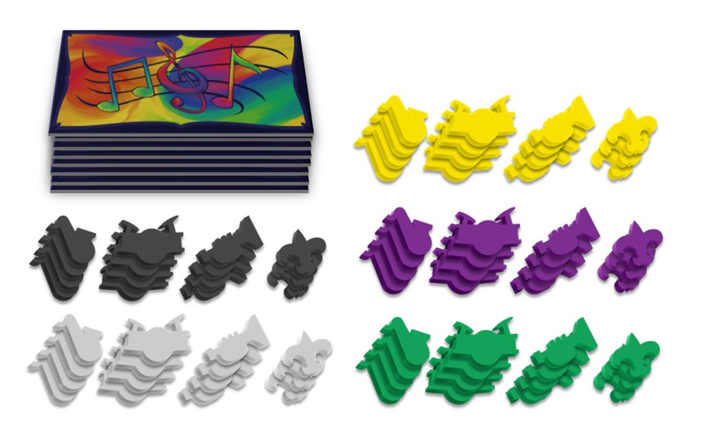 Extra Set of Sleeves and Meeples