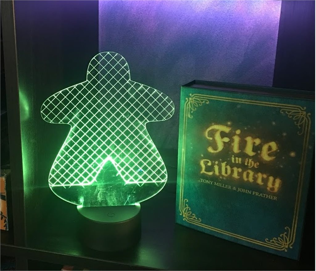 Meeple Lamp