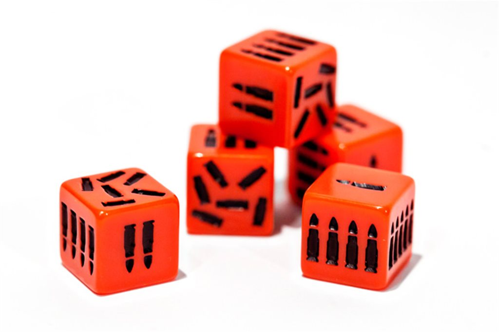 ADDITIONAL SET OF ATTACK DICE