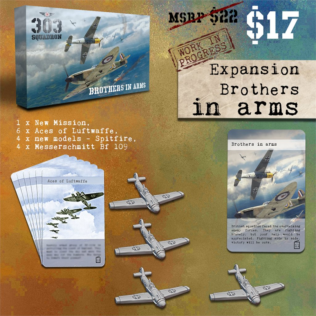 """Expansion """"Brothers in Arms"""""""