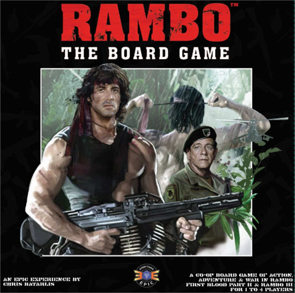Rambo the Board Game - Maximum Carnage Trilogy Collection (Late Pledge)