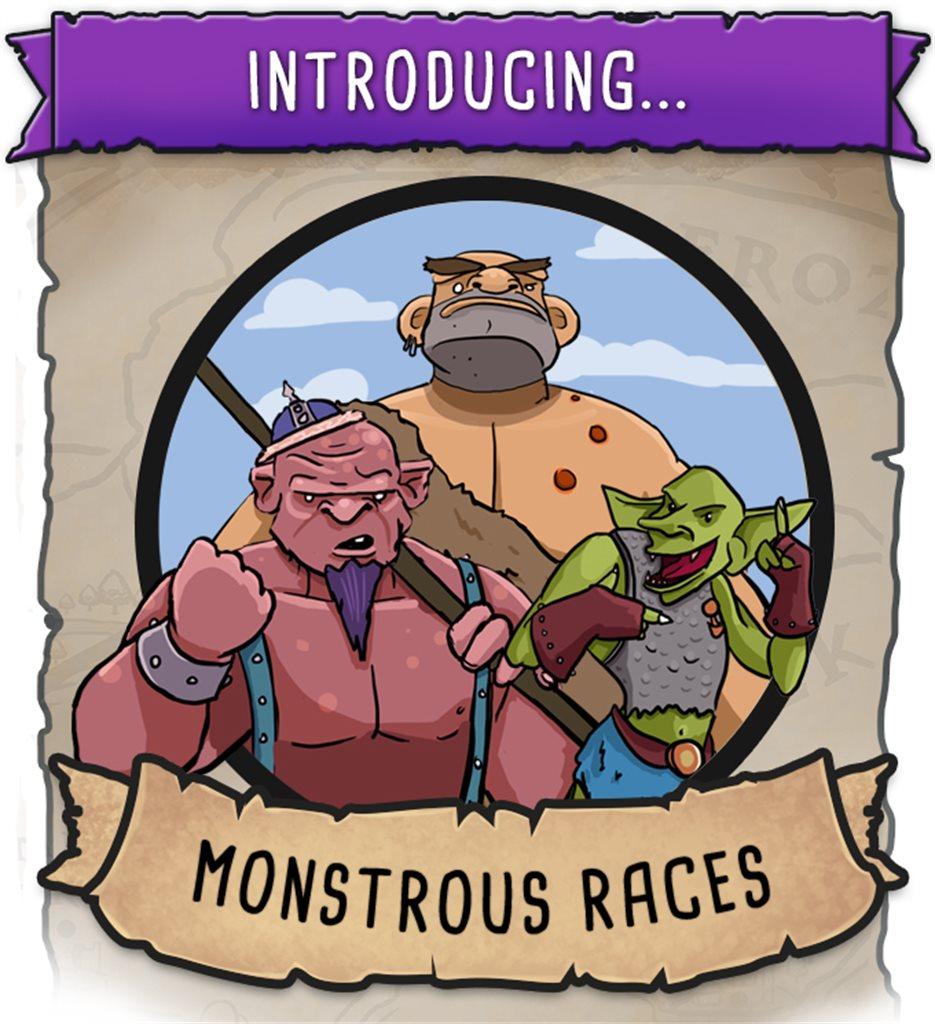 Monstrous Races Booster pack