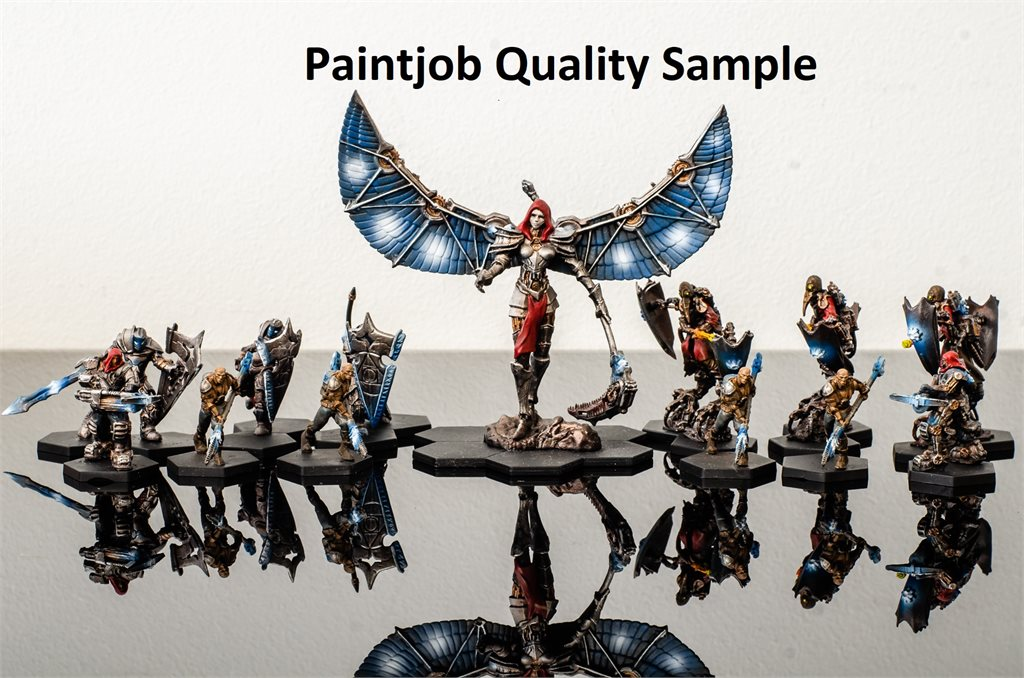 One Faction Painted