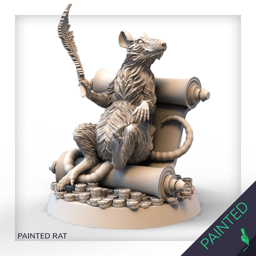PAINTED RAT