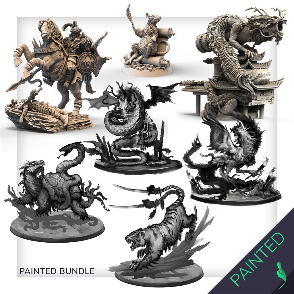 Painted models Bundle