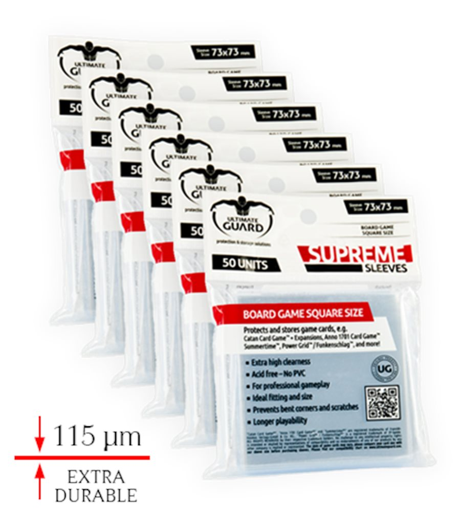 6 PCK. SUPREME SLEEVES