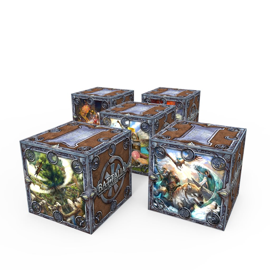 5 TUCK BOXES