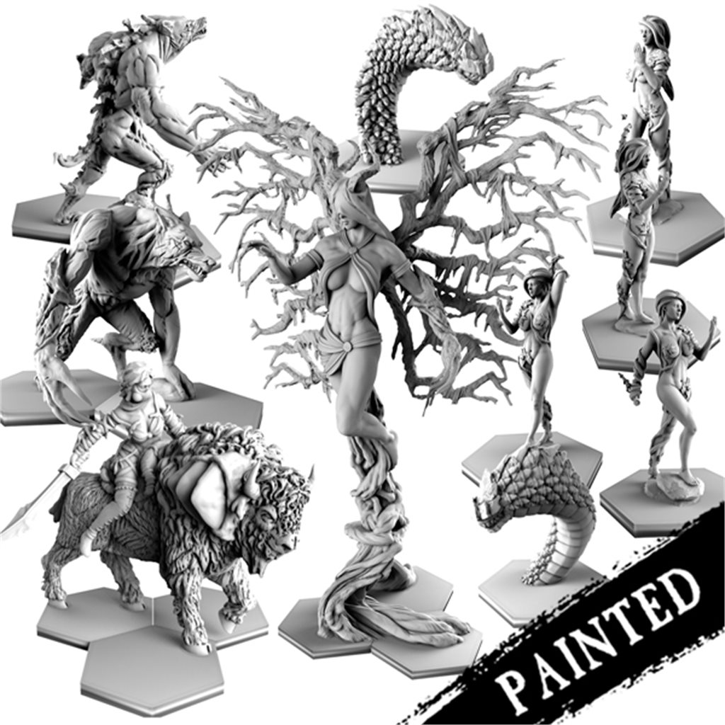 Painted reborn Faction Resin Bundle