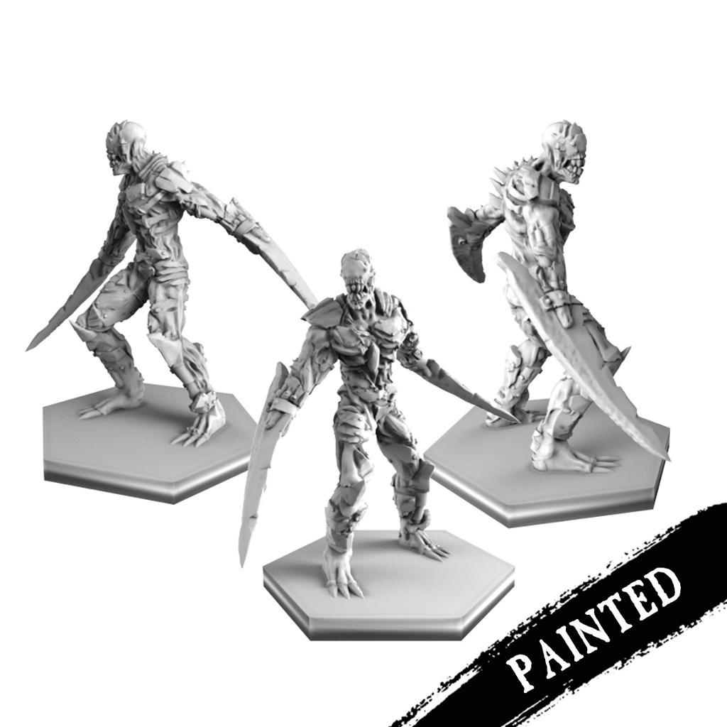Painted berserkers 1