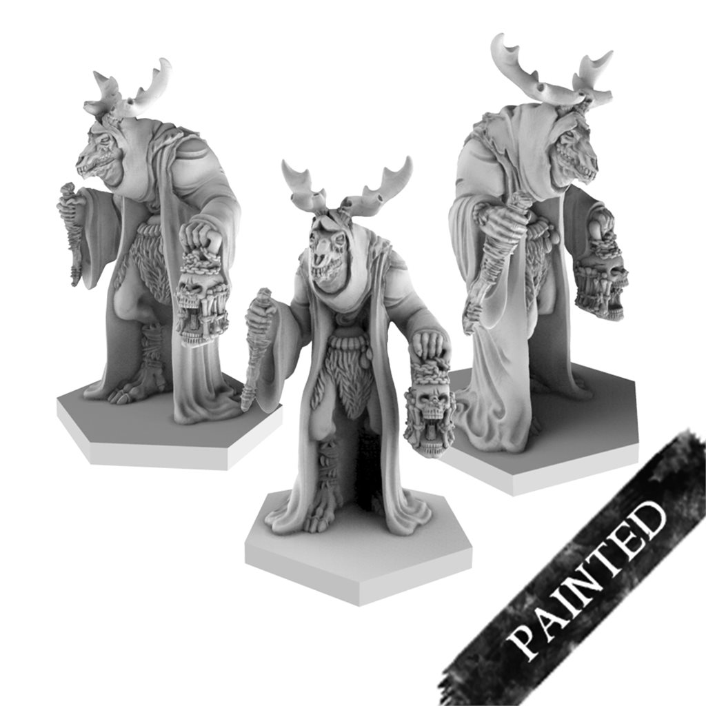 Painted terror cultists - stag