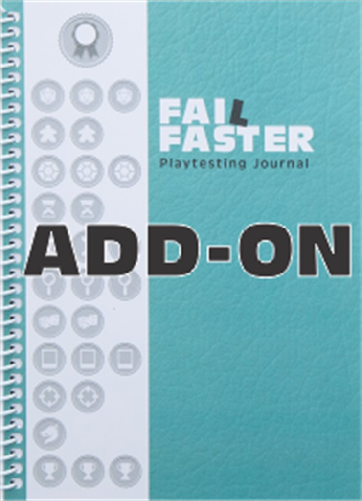 1x Add-on Fail Faster Journal