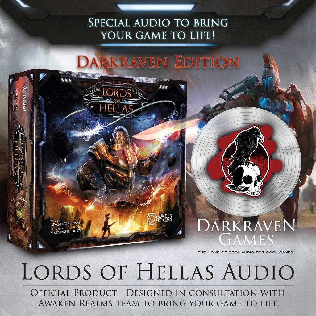 extra audio - DARKRAVEN EDITION