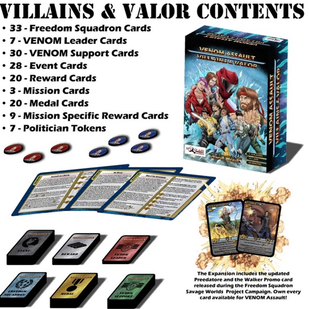 Villains & Valor Expansion*