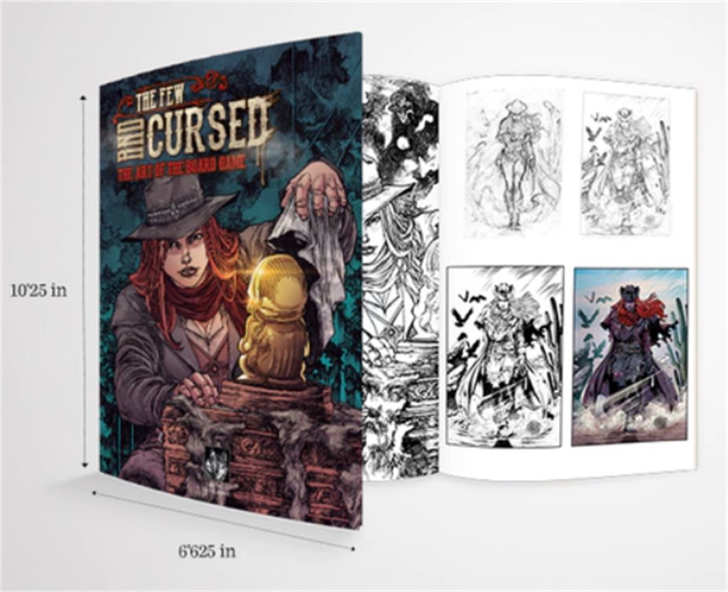 The Few and Cursed: Art Book