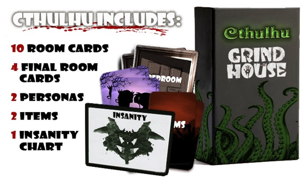 Grind House (DELUXE Pledge) - Includes CORE and Expansions