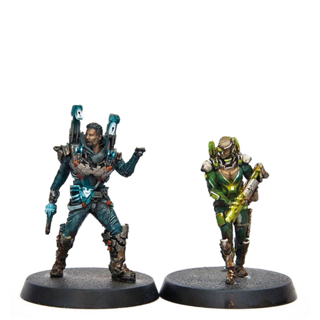 Painted Heroes (core box + Stretch goals) - painting pledge only!