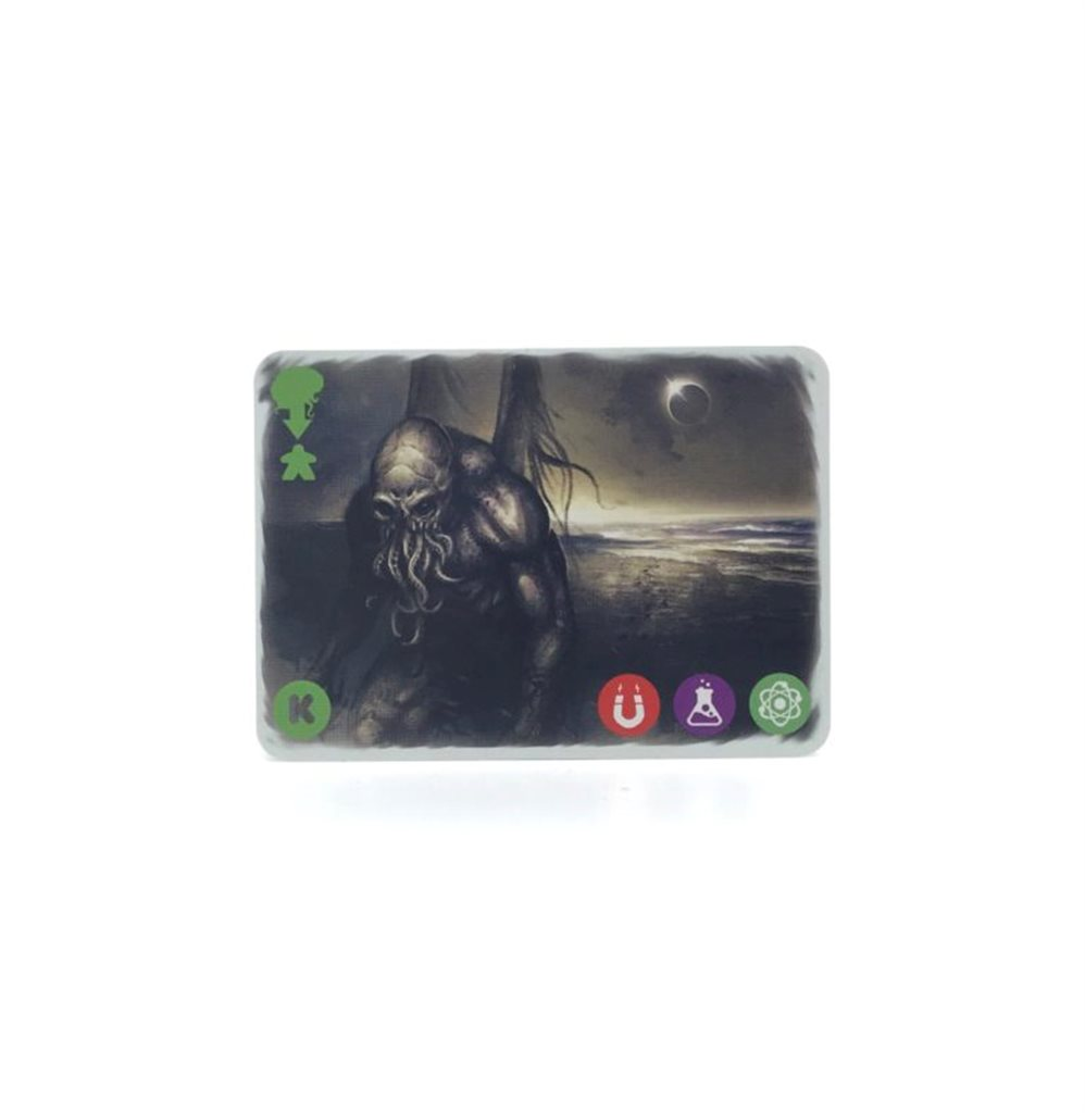SET OF 4 ADDITIONAL CARDS FOR MULTIUNIVERSUM PROJECT: CTHULHU