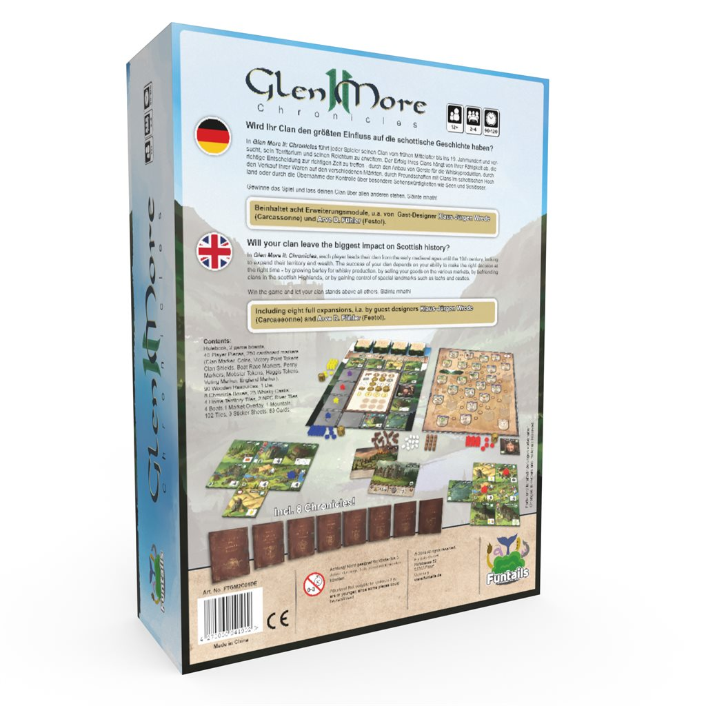 ENGLISH SHOP: Glen More II: Chronicles
