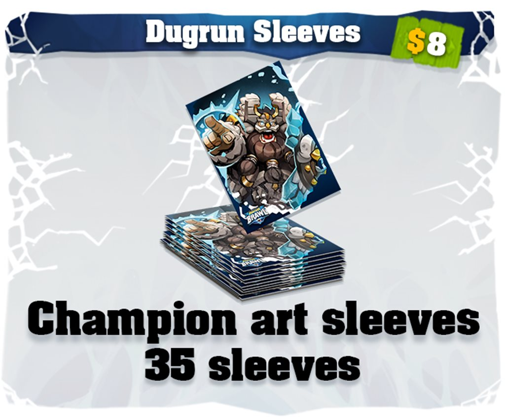 Dugrun art card sleeves