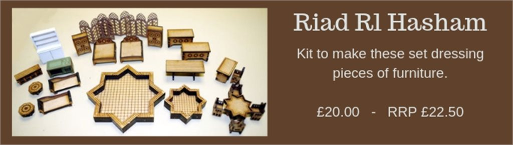 Riad Set Dressings
