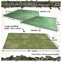 6x4 Grassy Fields Mat Bundle