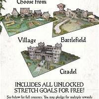 Fantasy Gaming Table x 4