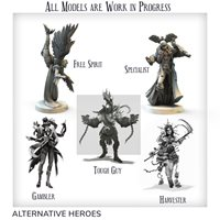 Alternative Advanced Heroes (4 Core Box Heroes +1 Reaper)