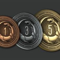 35 Metal coins