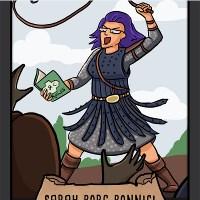 BGTCUK promo cards (six designs)
