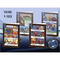 Raiding Party: Viking greetings cards