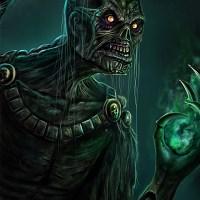 Signed Undead Warlock Print