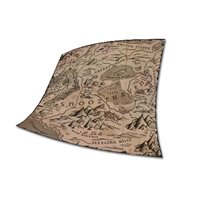 Snoozehaven map tablecloth