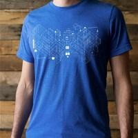 Board Game Blueprint T-shirt