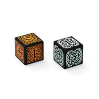 2 CUSTOM ENGRAVED DICE