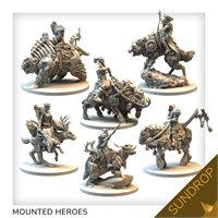 Mounted characters set (sundrop)