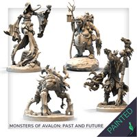Painted Monsters of Avalon: Past and the future
