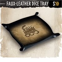 Faux-Leather Dice Tray