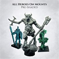 Sundrop - Mounted heroes