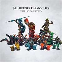 Heroes on mounts - painted