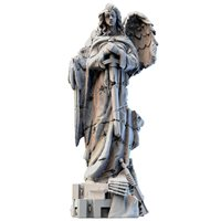 angel statue - resin
