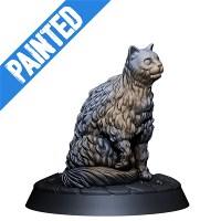 Cat - painted