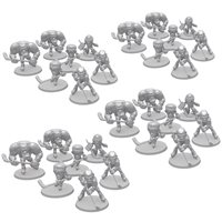 4x Extra Sets of Players bundle (28 models, Unpainted)