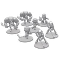 Extra Set of Players (7 models, Unpainted)