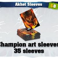 Akhet art card sleeves