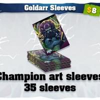 Goldarr art card sleeves