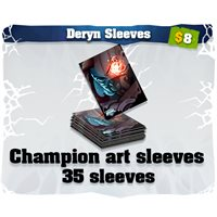 Deryn art card sleeves